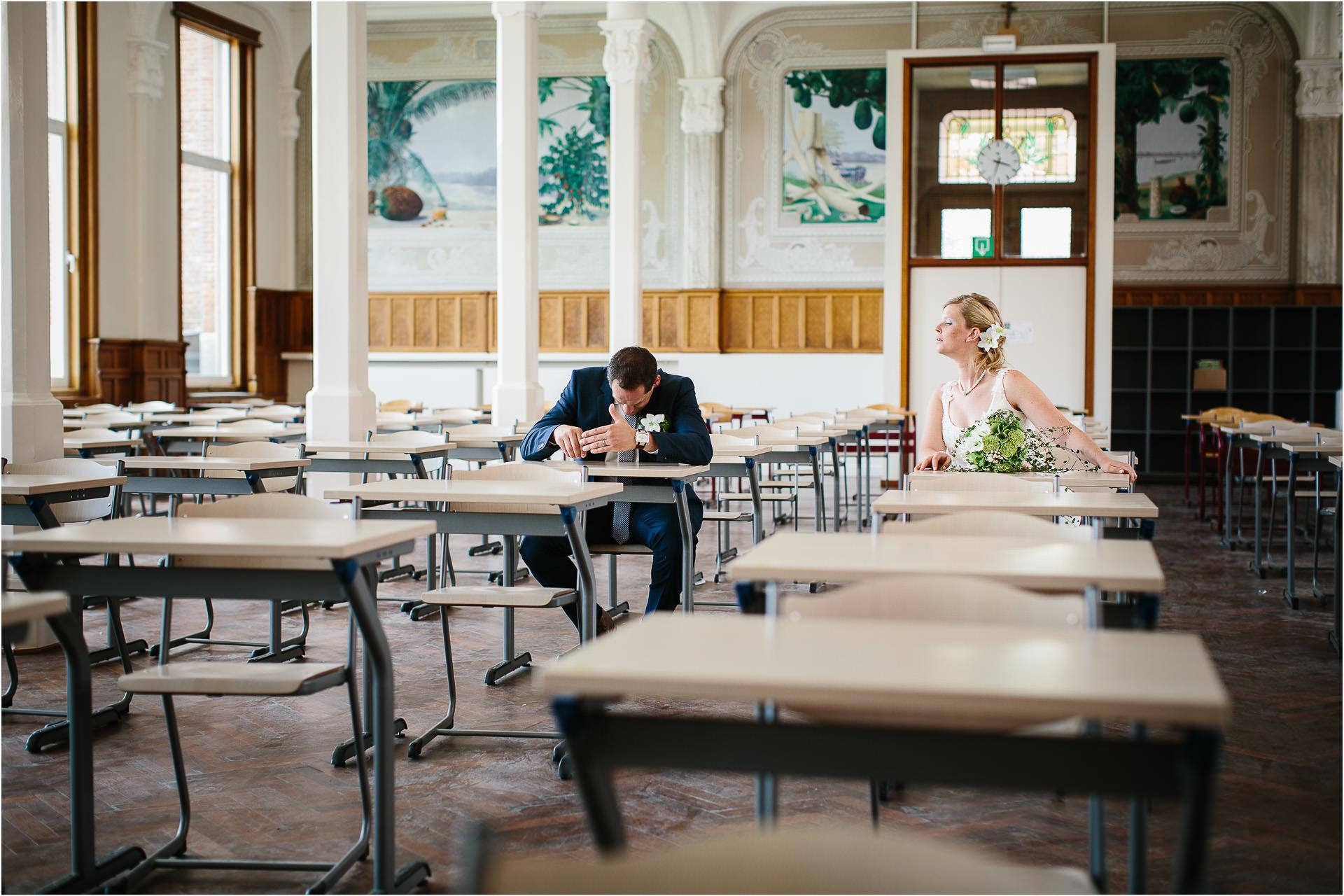 Huwelijksfotograaf Sint-Ursula-Instituut