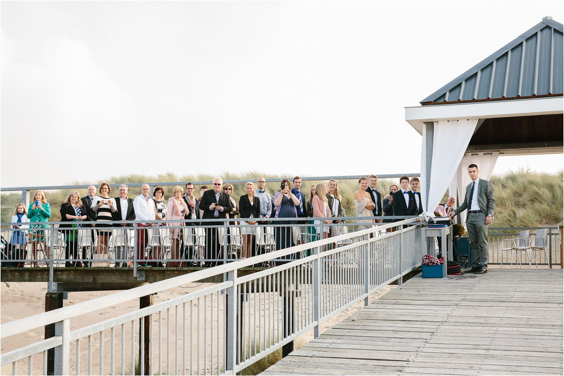 Huwelijksfotograaf Standpaviljoen Kijkduin